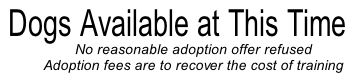 No reasonable adoption offer refused